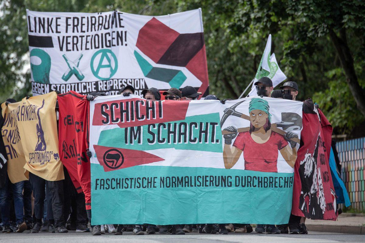 Pressemitteilung anlässlich der Antifa-Demo in Zwönitz